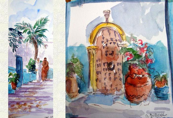 Rabat Médina et porte