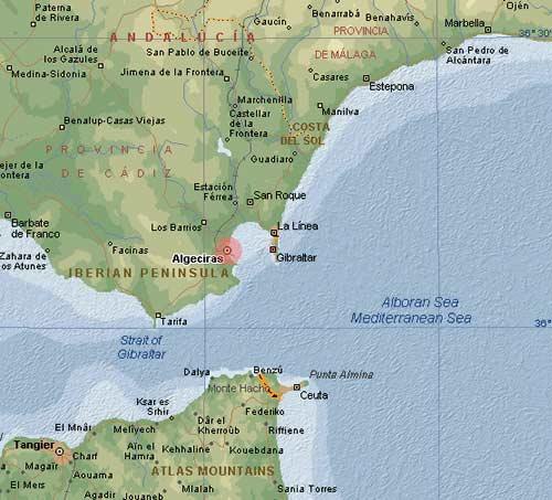 Algeciras, Espagne… et Suez, encore !