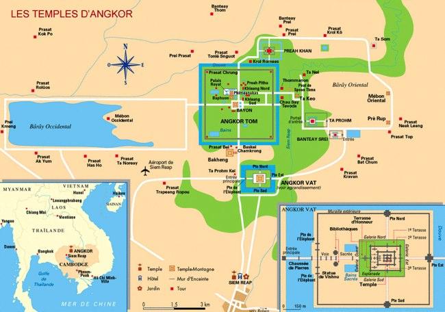 plan d'Angkor