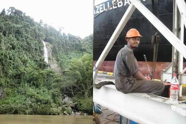 cascade et docker aux Fidji