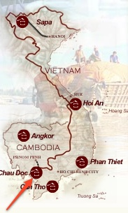 carte Chau Doc