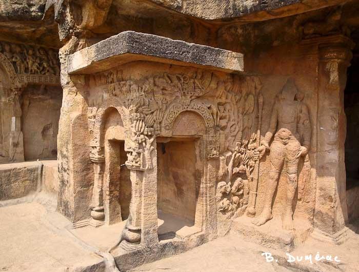 Grottes d'Udayagiri et Kandagiri