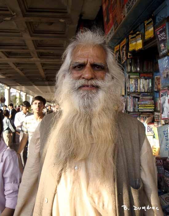 Portrait d'homme Calcutta
