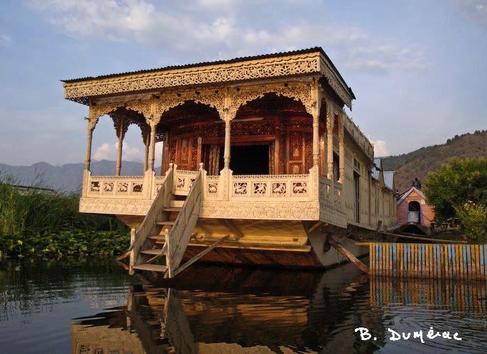 House-boat à Srinagar