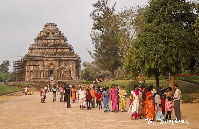 Konarak temple du soleil