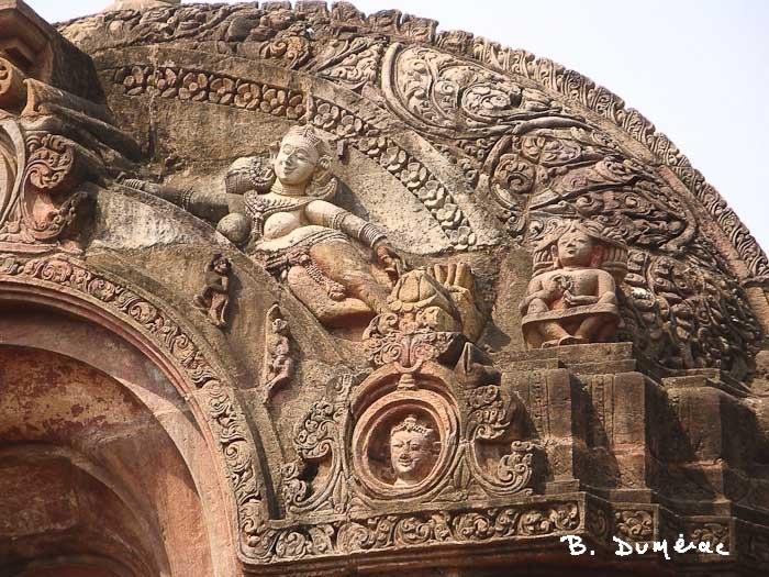 Mukteswara temple porche