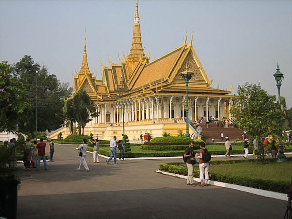 Phnom Pen palais-royal