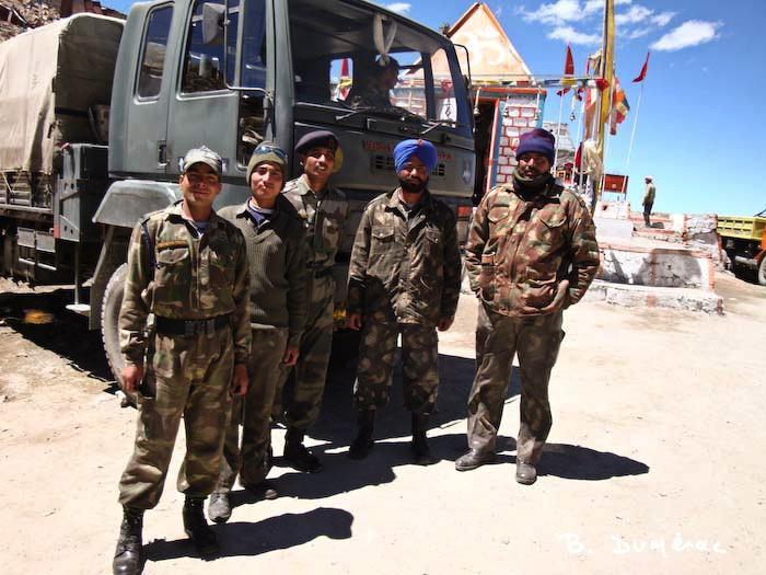 Présence militaire à Leh