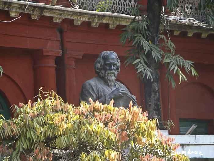 Buste de Rabindranath Tagore