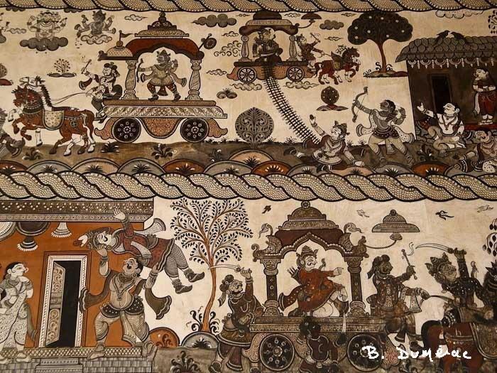 Raghurajpur maison décorée détail 2