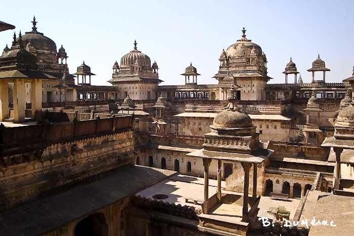 Raj Mahal cour intérieure
