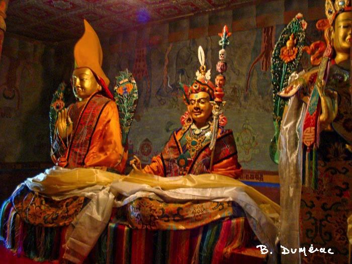 Thikse bouddhas