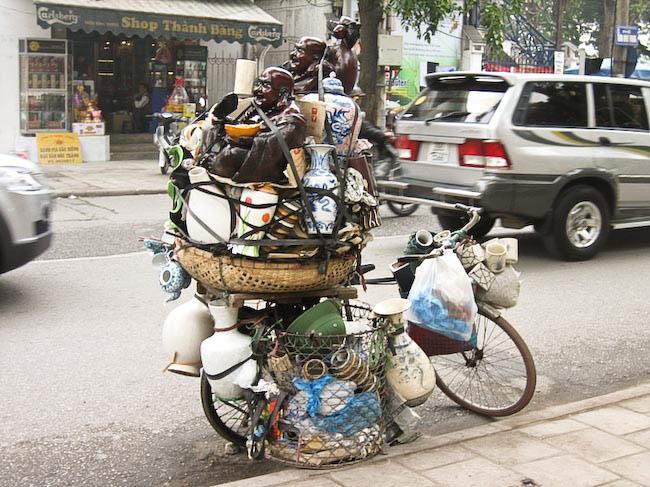 Vendeuses vases Hanoi