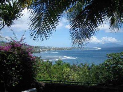 Vue de Tahiti