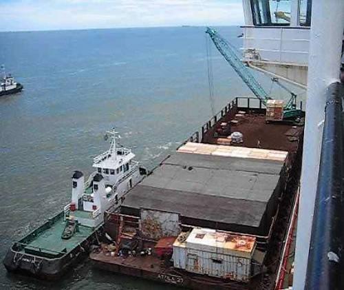 Barge à Miri