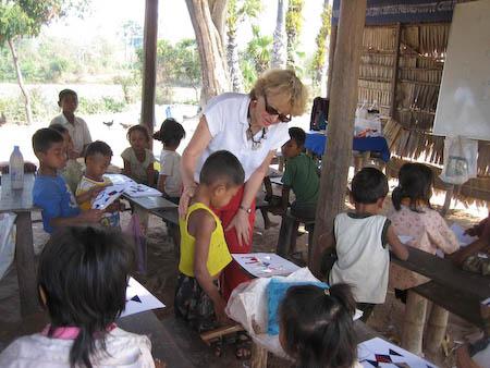 brigitte école cambodge