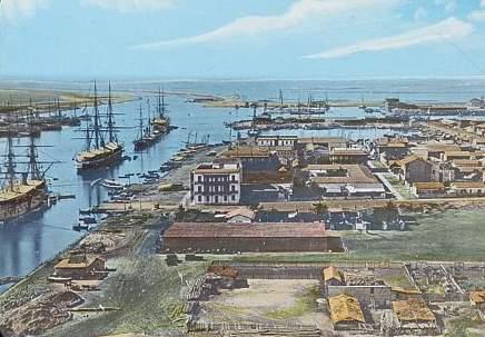 Canal de Suez autrefois