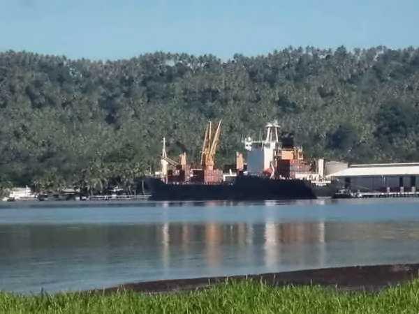 Cargo à Rabaul