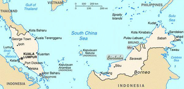 carte malaisie 3