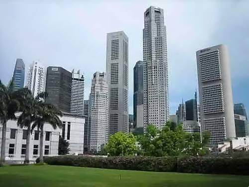 Centre ville Singapour