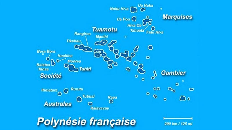 Tahiti et les îles Marquises
