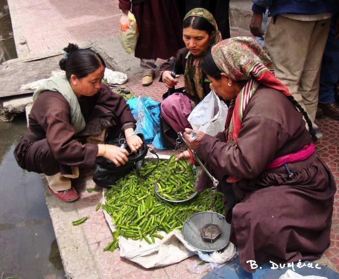 commerçantes à Leh