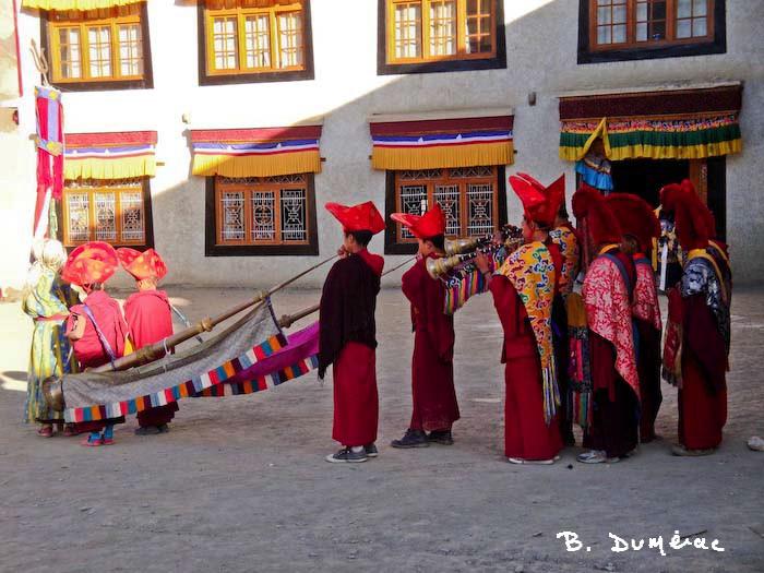 Cornes tibétaines