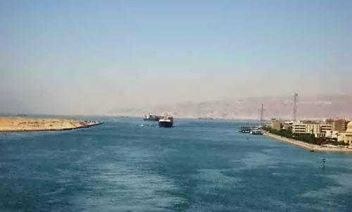 Entrée du Canal de Suez
