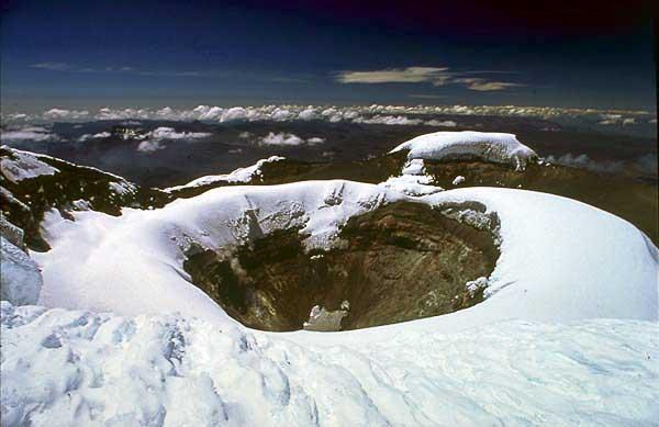 Cratère du Cotopaxi