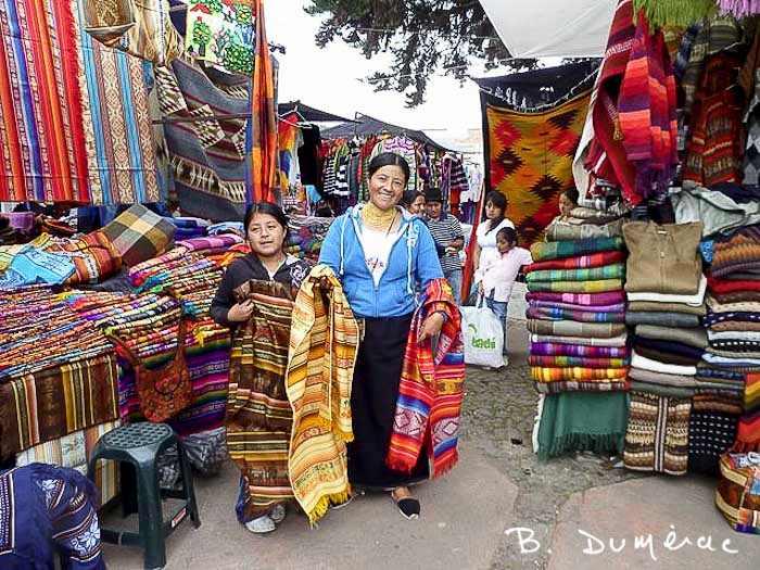 Tissage Otavalo