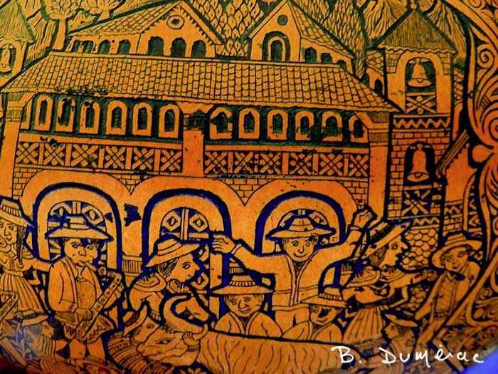 Marché Otavalo (détail)