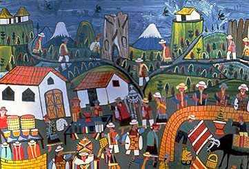 Peinture Riobamba