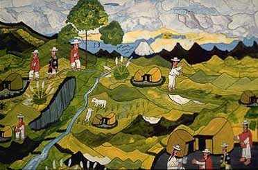 Peinture Riobamba 2