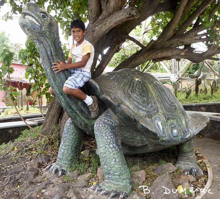 Place publique, Galapagos