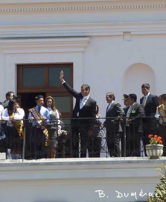 President Correa Quito