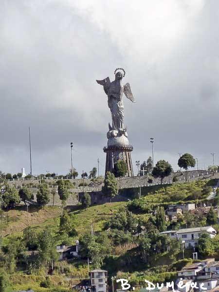 Quito - Vierge du Panecillo
