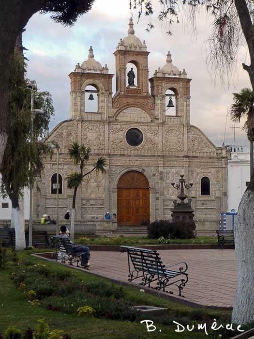 Riobamba, une des premières églises d'Équateur
