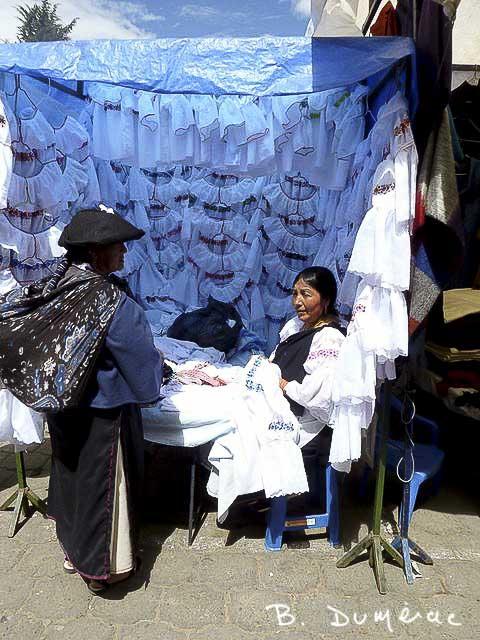 Femmes d'Otavalo