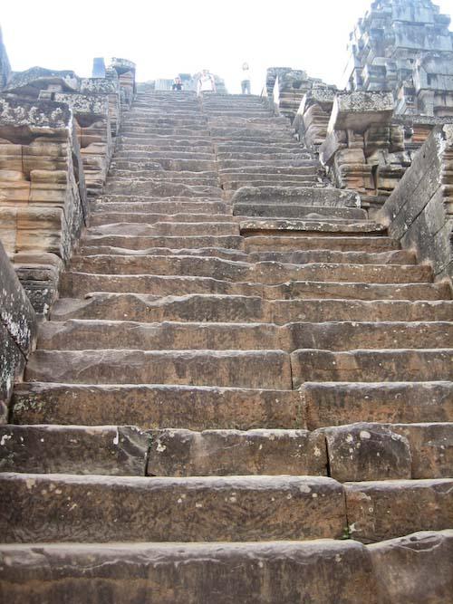 escaliers d'Angkor