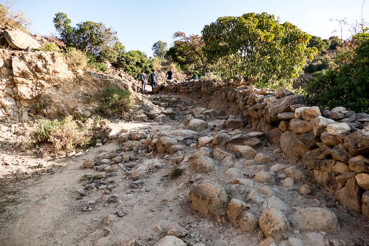 Chemin vers Abba Pantaléon