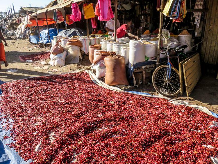 Marché à Bahar-Dar