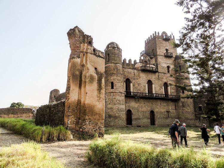 GONDAR le château 1