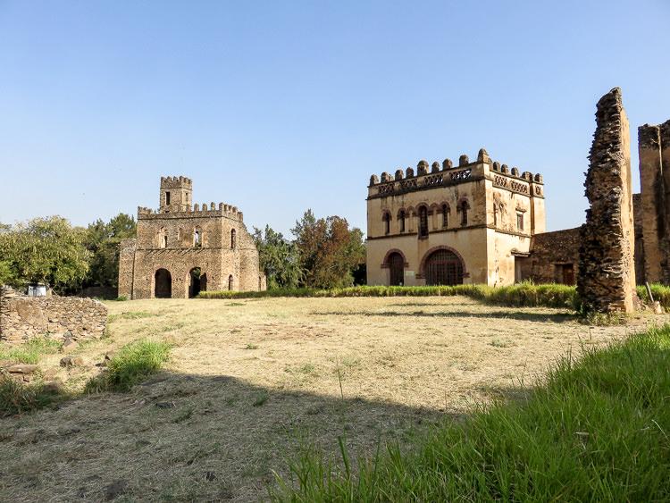 GONDAR le château 2