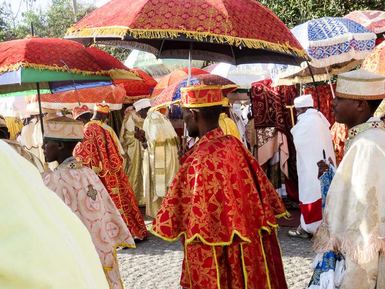 fête de Timkat à Lalibela
