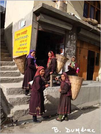 Femmes à Keylong