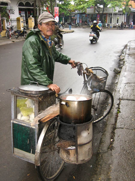 vendeur au fourneau Hué