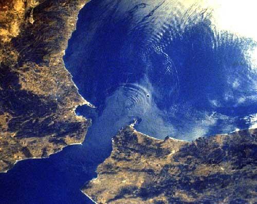vagues internes 2 détroit Gibraltar