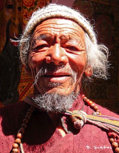Portrait d'homme à Leh