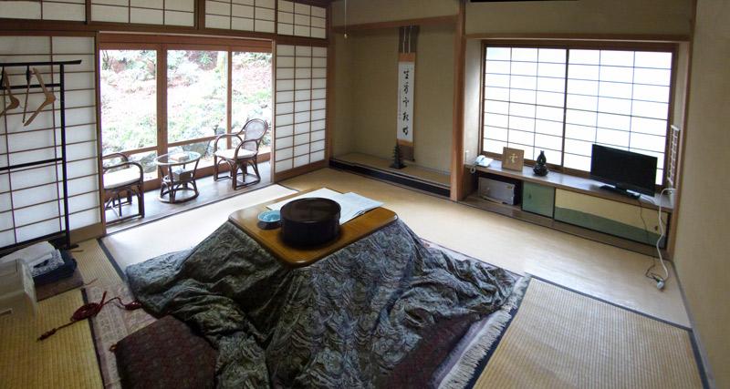 Koyasan Chambre dans le temple