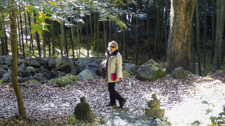 Brigitte à Hakone